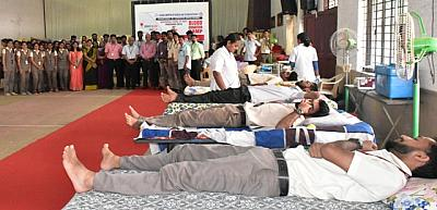MCA BLOOD DONATION CAMP