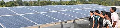 SOLAR POWER SYSTEMS INSTALLED