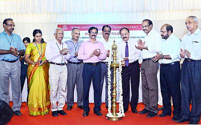 INAUGURATION OF CENTRAL COMPUTING FACILITY