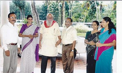 Management Guru Dr. (Prof) N S Ramaswamy honored