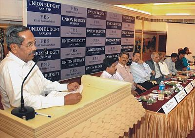 FISAT Business School Hold Union Budget Analysis