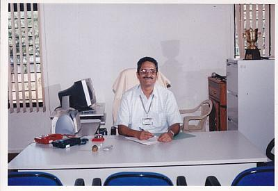 Dr. M George Joseph, took charge as the first Principal of FISAT
