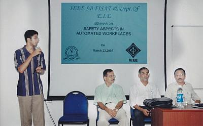 IEEE Seminar on Safety aspects in Automated workplaces