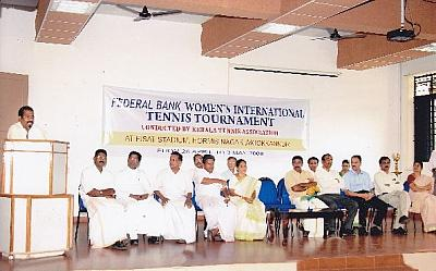 Federal Bank Women's International Tennis Tournament