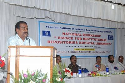 National Workshop on  'DSpace for Building Institutional Repositories and Digital Libraries'