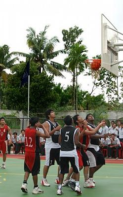 M.G University Basketball Tournament