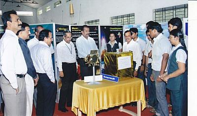 "ISRO Space exhibition  ""India at Space"""