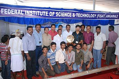 FISAT bags First Prize in Science Exhibition