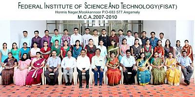MCA Final year students 2007-10