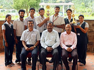 M G University Table Tennis Championship (Men&Women) - FISAT WINS