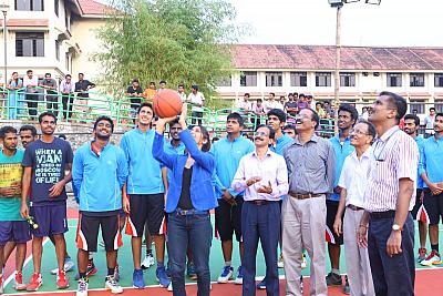 FISAT Trophy All Kerala Inter Collegiate Basketball Tournament