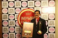 CHAIRMAN PAUL MUDNADN with INDYWOOD AWARD