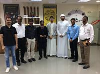 FISAT TEAM VISITED AT DUBAI FAB LAB