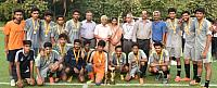 FISAT FOOTBALL CUP SCMS RUNNERS UP