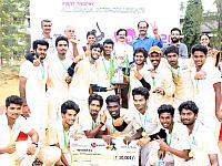 FISAT Cricket team won FISAT trophy T20 Cricket
