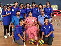 VOLLY BALL RUNNERS UP AT KTU