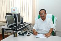 Dr.KSM Panicker took charge as Principal