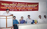 ISTE Seminar on Modern Process Control