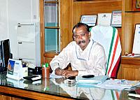 Dr.P S . Sreejith takes charge as Principal