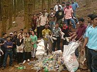 Clean- Up Campaign at Vagamon