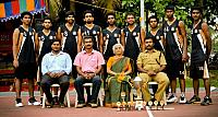 FISAT Basketball team wins Rajagiri Trophy