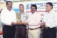 Outstanding Personality of the Year Award for Sri. P V Mathew