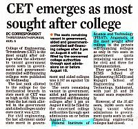Most preferred COLLEGES IN KERALA Deccan Chronicle 7 8 2015